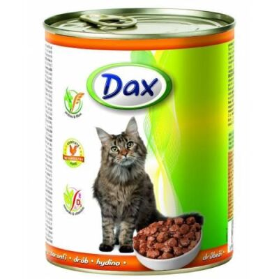 Dax - Dax Tavuklu Kedi Konservesi 415 Gr