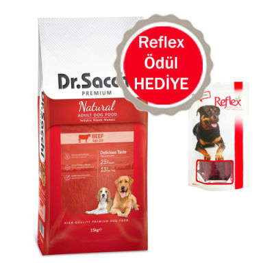 Dr.Sacchi - Dr.Sacchi Premium Sığır Etli Köpek Maması 15 Kg