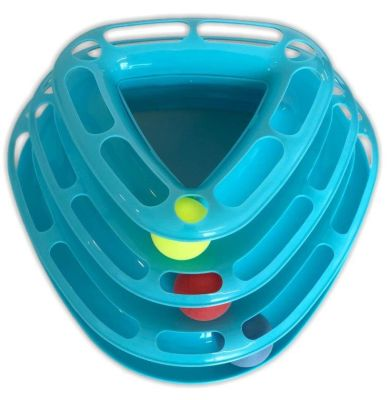 Dr.Sacchi - Dr.Sacchi Toplu Üçgen Kedi Oyuncağı 29x19x14cm