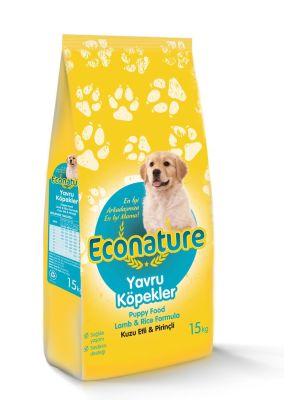 Eco Nature - EcoNature Kuzu Etli Yavru Köpek Maması 15 KG