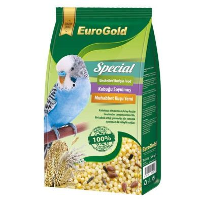 EuroGold - Eurogold Special Kabuksuz Soyulmuş Muhabbet Kuşu Yemi 500 gr