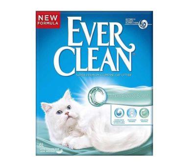 Ever Clean - Ever Clean Aqua Breeze Okyanus Esintisi Parfümlü Kedi Kumu 6 Lt