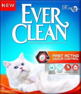 Ever Clean - Ever Clean Fast Acting Hızlı Etki Eden Bitki Özlü Kedi Kumu 10 Lt