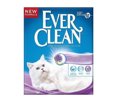 Ever Clean - Ever Clean Lavender / Lavanta Kokulu Topaklaşan Kedi Kumu 10 Lt