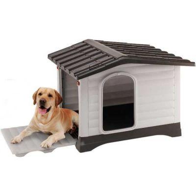 Ferplast - Ferplast Dog Villa 110 Plastik Köpek Kulübesi