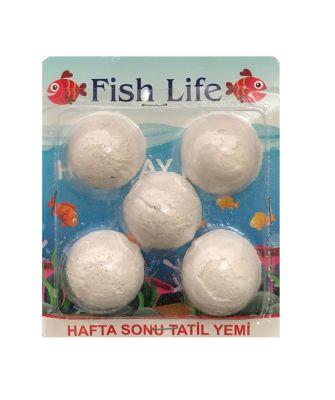 Diğer - Fish Life Balık Tatil Yemi 5 Tablet