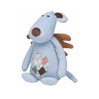 Gimpet - Gimborn Peluş Mavi Sesli Köpek Oyuncağı 25cm
