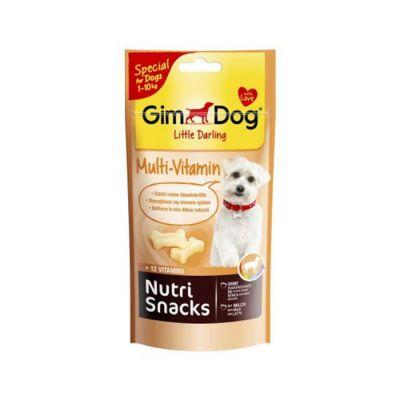 Gimdog - Gimdog Little Darling Nutri Snacks Multivitaminli Köpek Ödülü 40G