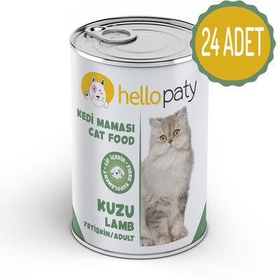 HelloPaty - HelloPaty Kuzulu Yetişkin Konserve Kedi Maması x 24