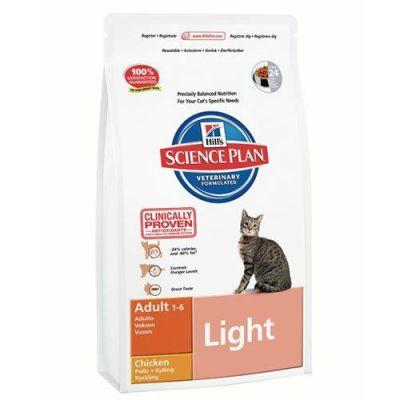Hills - Hills Light Tavuk Etli Diyet Kedi Maması 1,5 Kg