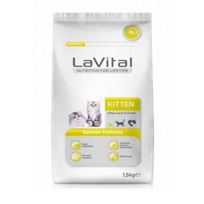 La Vital - LaVital Cat Kitten Somon Balıklı Yavru Kedi Maması 1.5 KG