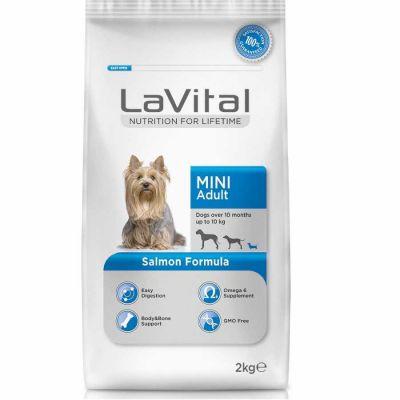 La Vital - LaVital Küçük Irk Somon Balıklı Yetişkin Köpek Maması 2 Kg