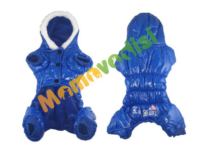 Lion - Lion Kapüşonlu Paçalı Yağmurluk 1 Beden Mavi