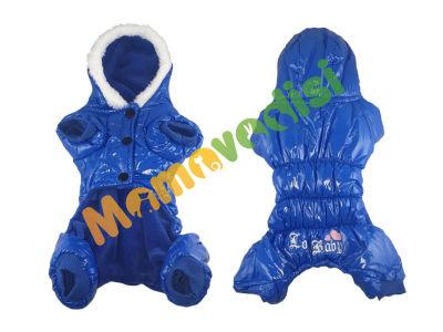 Lion - Lion Kapüşonlu Paçalı Yağmurluk 3 Beden Mavi