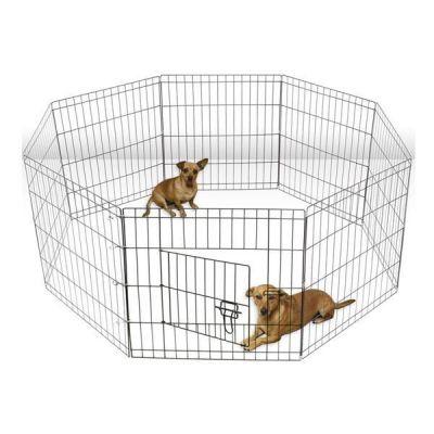 Lion - Lion Kedi ve Köpekler İçin Panel Çit 61x61Cm 8 Parça