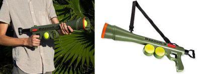 Lion - Lion Bazooka 9 Top Atan Tüfek Köpek Oyuncağı