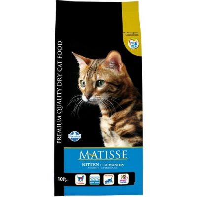 Matisse - Matisse 1 - 12 Aylık Yavru Kuru Kedi Maması 10 Kg