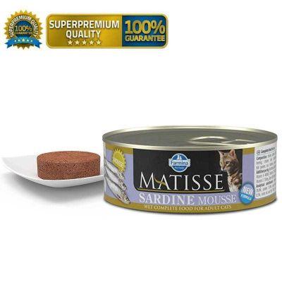 Matisse - Matisse Mousse Sardalya Balıklı Kedi Konservesi 300 Gr