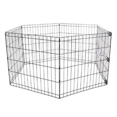 Miapet - Miapet Kedi ve Köpekler İçin Panel Çit 76x61Cm 6 Parça