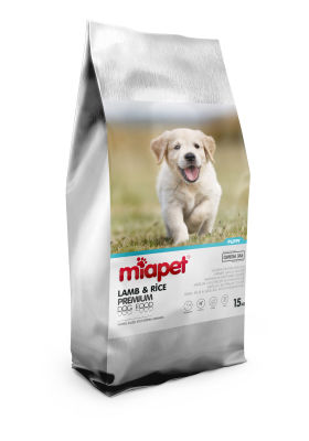 Miapet - Miapet Kuzu Etli Yavru Köpek Maması 15 KG