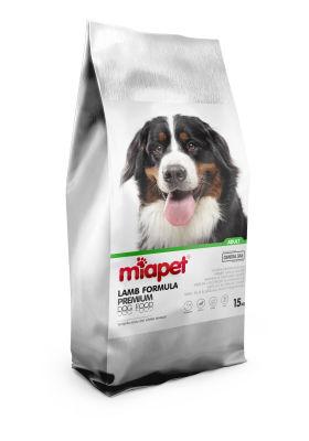 Miapet - Miapet Kuzu Etli Yetişkin Köpek Maması 15 KG