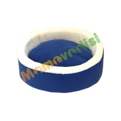 Miapet - Miapet Sepet Kedi Köpek Yatağı Mavi 50 Cm