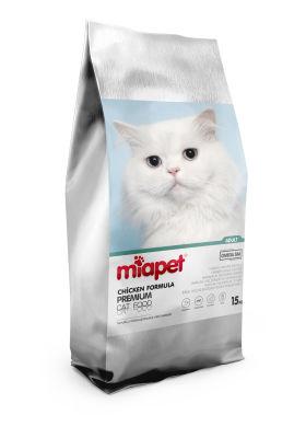 Miapet - Miapet Tavuklu Kısırlaştırılmış Kedi Maması 15 KG