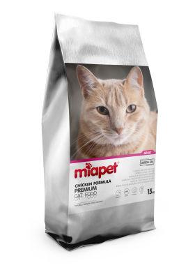 Miapet - Miapet Tavuklu Yetişkin Kedi Maması 15 KG