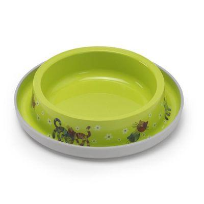 Moderna - Moderna Trendy Friends Kedi Mama Kabı Yeşil 210 Ml