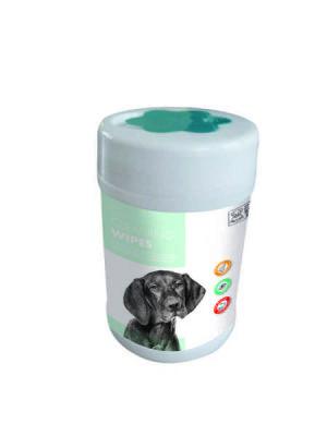 Mpets - Mpets Kedi Köpek Kulak Burun ve Göz Temizleme Mendili 80 li