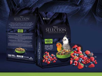 MyYem - Myyem Selection 10 Çeşit Gerçek Meyveli Paraket Yemi 1kg