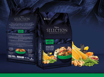 MyYem - Myyem Selection Kuru Sebze ve Meyveli Hamster Yemi 750 gr