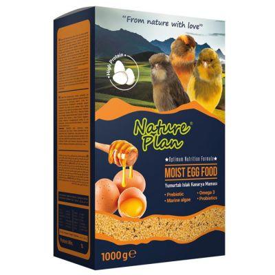 Nature Plan - Nature Plan Yumurtalı Islak Kanarya Maması 1000 g