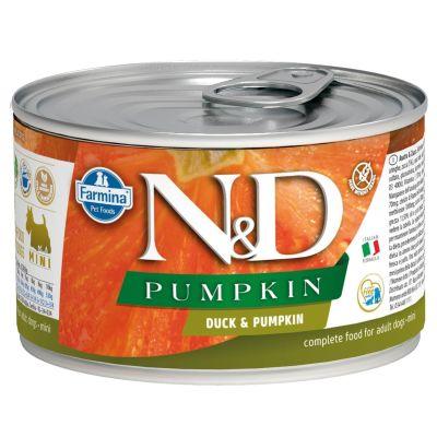N&D - N&D Balkabaklı Ördekli Köpek Konservesi 140 gr
