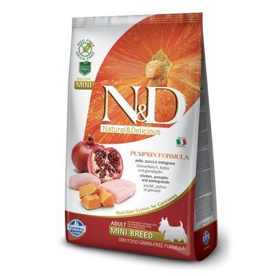 N&D - N&D Balkabaklı Tavuklu Tahılsız Küçük Irk Köpek Maması 7 Kg
