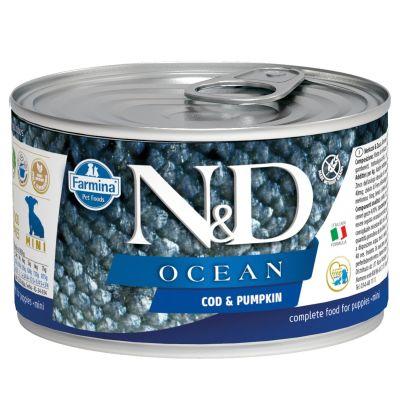 N&D - N&D Ocean Morina Balıklı Yavru Köpek Konservesi 140 gr