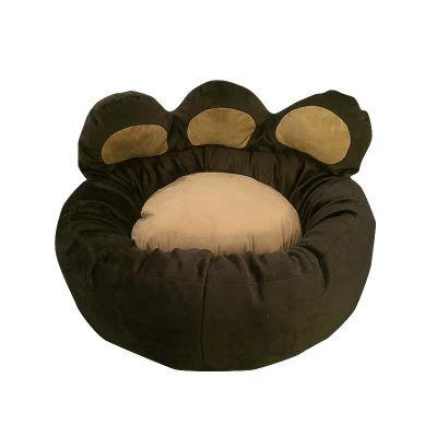 Diğer - Paw Paw Pati Şeklinde Kedi Köpek Yatağı 60 cm