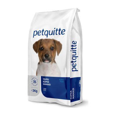 Petquitte - Petquitte Etli Yavru Köpek Maması 3 Kg