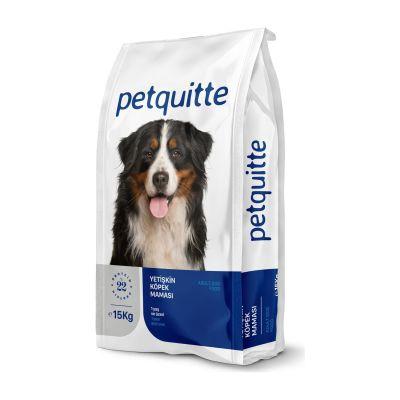 Petquitte - Petquitte Etli Yetişkin Köpek Maması 15 Kg