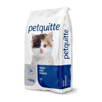 Petquitte - Petquitte Yavru Kedi Maması 15 Kg