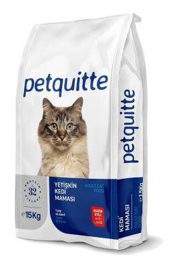 Petquitte - Petquitte Yetişkin Kedi Maması Kuzu Etli 15 Kg