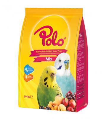Diğer - Polo Meyveli Muhabbet Kuşu Yemi 400 gr