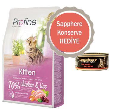 Profine - Profine Kitten Tavuklu Yavru Kedi Maması 2 KG