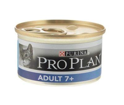 ProPlan - Proplan Adult +7 Ton Balıklı Yaşlı Kedi Konservesi 85 Gr