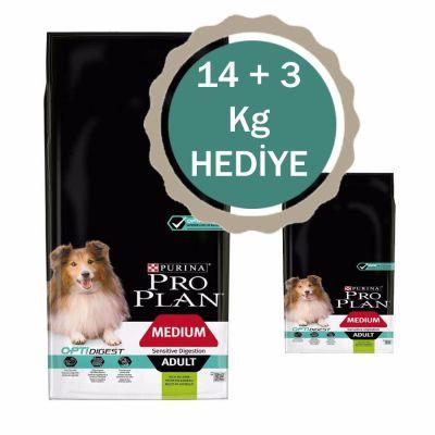 ProPlan - ProPlan Kuzu Etli Yetişkin Kuru Köpek Maması 14 +3 KG HEDİYELİ
