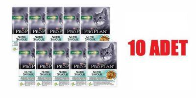 ProPlan - Proplan Okyans Balıklı Kısırlaştırılmış Kedi Konservesi 85GR 10LU
