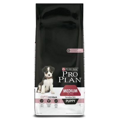 ProPlan - ProPlan Puppy Sensitive Somonlu Yavru Kuru Köpek Maması 12 Kg