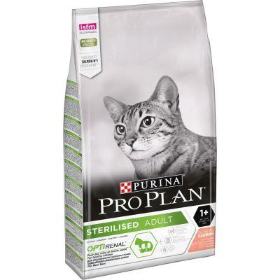 ProPlan - ProPlan Somon Balıklı Kısırlaştırılmış Kuru Kedi Maması 10 Kg