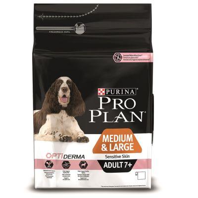 ProPlan - ProPlan Somonlu Hassas Yaşlı Kuru Köpek Maması 3 Kg