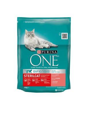 Purina - Purina One Somonlu Kısırlaştırılmış Kedi Maması 200 GR